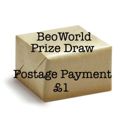 Shipping for BeoWorld Draw Prize - £1