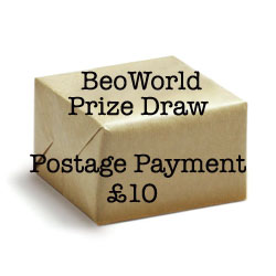 Shipping for BeoWorld Draw Prize - £10