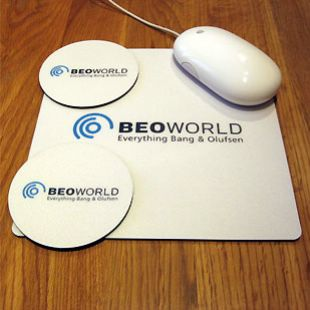 BeoWorld Mouse Mat & Coaster Set